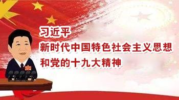 学习习近平新时代中国特色社会主义思想和党的十九大精神