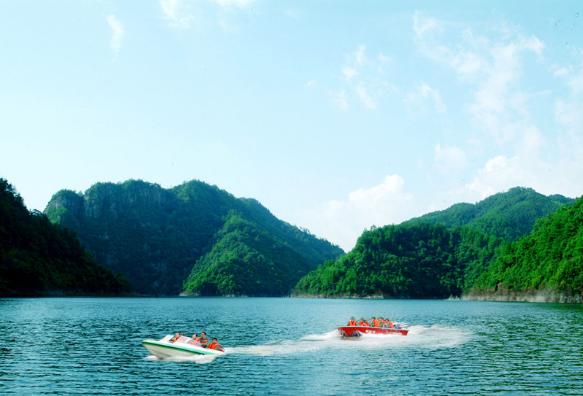 [罗溪森林公园]秀丽的水体景观资源