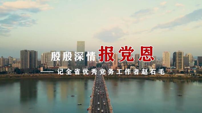 殷殷深情报党恩——记全省优秀党务工作者赵石毛
